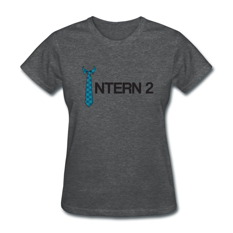 Intern 2 Tie (Women's) - Women's T-Shirt