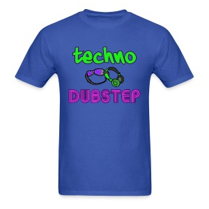 Techno & Dubstep (Men's) - Men's T-Shirt