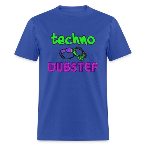 Techno & Dubstep (Men's) - Men's T-Shirt