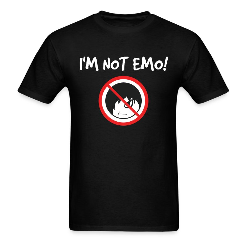 I'm Not Emo! (Men's) - Men's T-Shirt