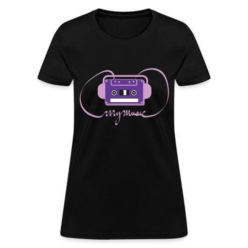 Scene's MyMusic Shirt (Women's) - Women's T-Shirt