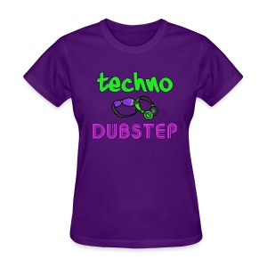 Techno & Dubstep (Women's) - Women's T-Shirt