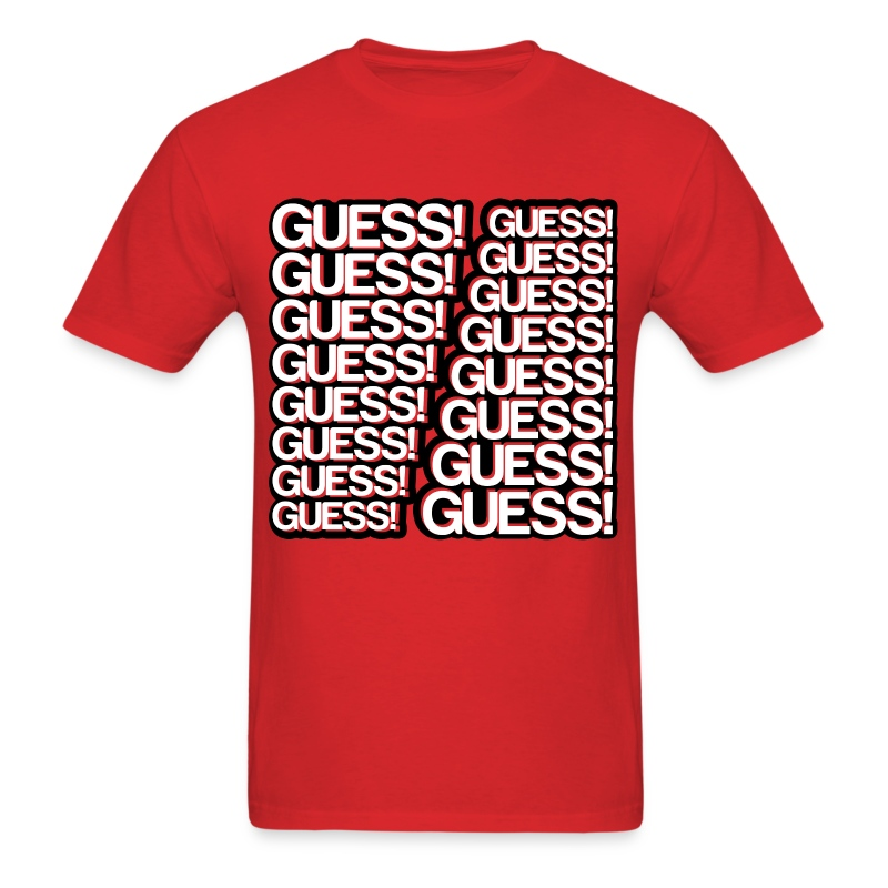 GUESS! GUESS! GUESS! (Men's) - Men's T-Shirt
