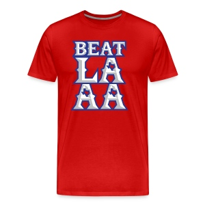 Beat LAAA shirt - Men's Premium T-Shirt