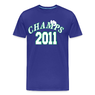 T-Shirts ~ Men's Premium T-Shirt ~ 2011 World Champion Mavericks Throwback Shirt