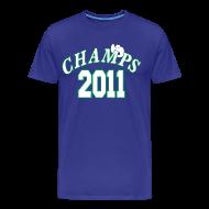 T-Shirts ~ Men's Premium T-Shirt ~ 2011 World Champion Mavericks Throwback Shirt
