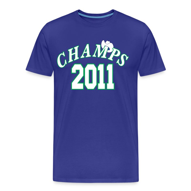 2011 World Champion Mavericks Throwback Shirt - Men's Premium T-Shirt