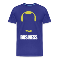 T-Shirts ~ Men's Premium T-Shirt ~ Business in the Front, Party in the Back - Dirk Shirt