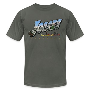 Joliet Illinois Throwback - Men's T-Shirt by American Apparel