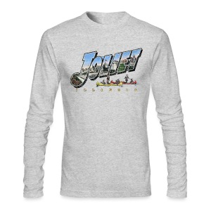 Joliet Illinois Throwback - Men's Long Sleeve T-Shirt by Next Level