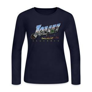 Joliet Illinois Throwback - Women's Long Sleeve Jersey T-Shirt