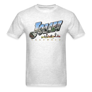 Joliet Illinois Throwback - Men's T-Shirt