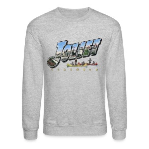 Joliet Illinois Throwback - Crewneck Sweatshirt
