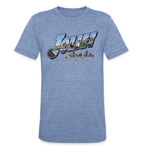 Joliet Illinois Throwback - Unisex Tri-Blend T-Shirt by American Apparel