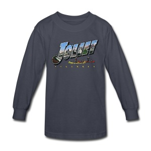 Joliet Illinois Throwback - Kids' Long Sleeve T-Shirt
