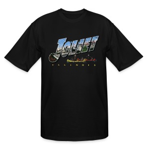 Joliet Illinois Throwback - Men's Tall T-Shirt