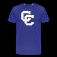 T-Shirts ~ Men's Premium T-Shirt ~ Connally Cadets CC | Go Big Blue and School Sign