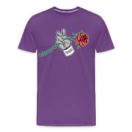 T-Shirts ~ Men's Premium T-Shirt ~ Frogs and Roses