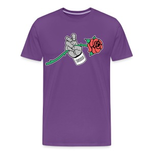 Frogs and Roses - Men's Premium T-Shirt