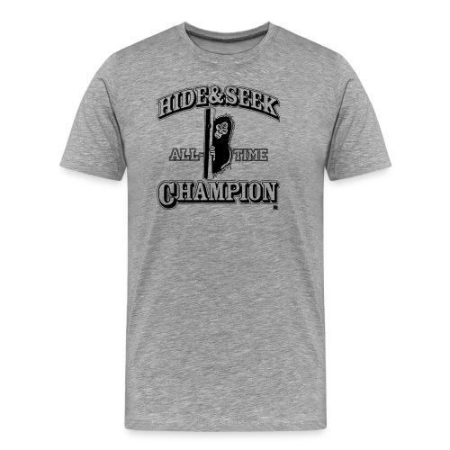Hide & Seek Champ, 3X 4X Bigfoot shirt - Men's Premium T-Shirt
