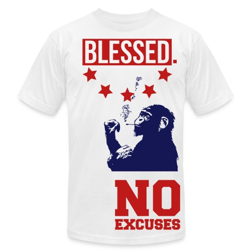 Blessed No Excuses Tee - Men's Fine Jersey T-Shirt
