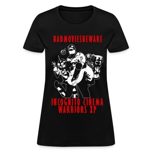 ICWXP Bad Movies Beware! - Women's T-Shirt
