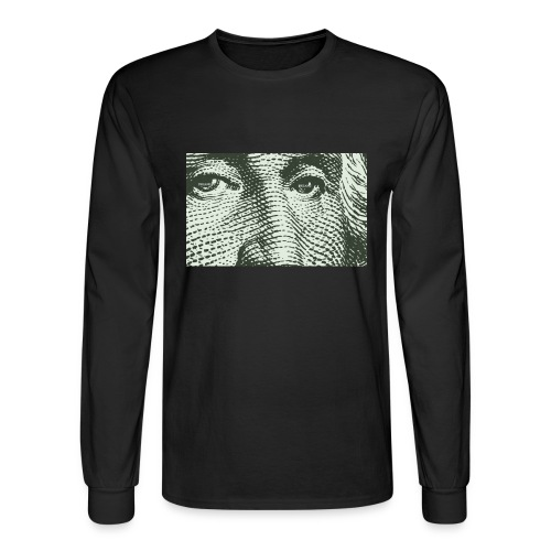 DREAM$ ALL IN THE EYE OF $ LONG TEE - Men's Long Sleeve T-Shirt