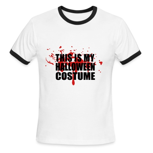 This is my halloween costume v2 - Men's Ringer T-Shirt