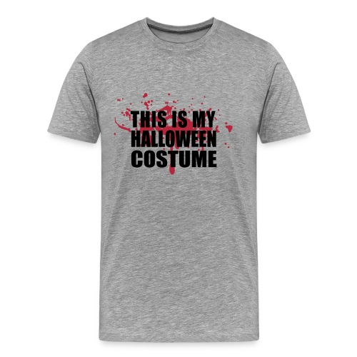 This is my halloween costume v3 - Men's Premium T-Shirt