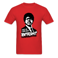 T-Shirts ~ Men's T-Shirt ~ Pulp Fiction: Does he look like a bitch?