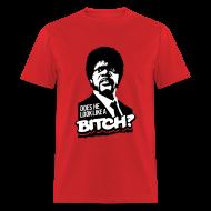 T-Shirts ~ Men's T-Shirt ~ Pulp Fiction: Does he look like a bitch?