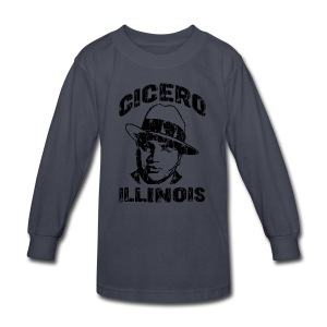 Cicero Illinois - Kids' Long Sleeve T-Shirt