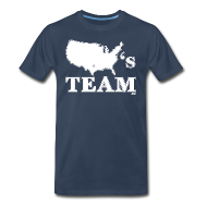 T-Shirts ~ Men's Premium T-Shirt ~ America's Team shirt