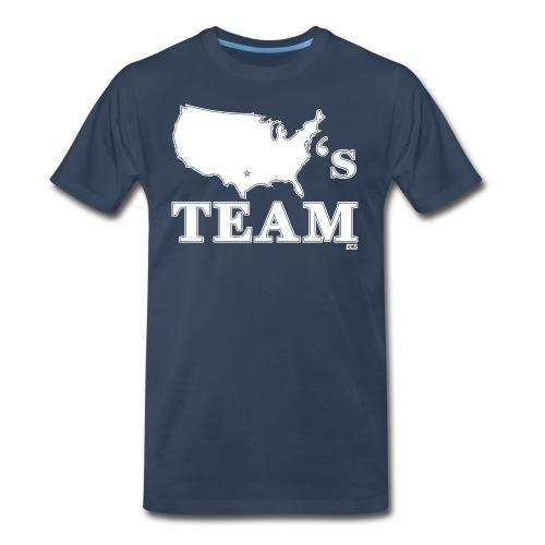 America's Team shirt - Men's Premium T-Shirt