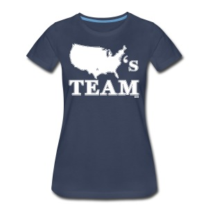 America's Team woman's shirt - Women's Premium T-Shirt