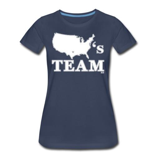 America's Team woman's shirt - Women's Premium T-Shirt