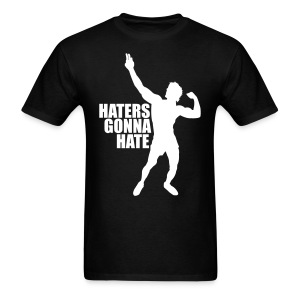 Zyzz T-Shirt Haters Gonna Hate - T-shirt pour hommes