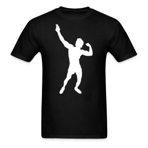 Zyzz T-Shirt Pose - Men's T-Shirt