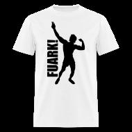 T-Shirts ~ Men's T-Shirt ~ Zyzz Silhouette FUARK t-shirt