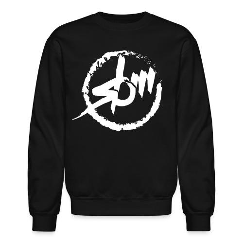 sbm logo white crew - Crewneck Sweatshirt