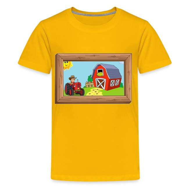 Kid's Shirt with Picture & Frame