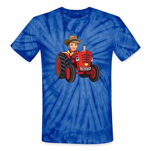 TieDie Shirt Trakta - Unisex Tie Dye T-Shirt
