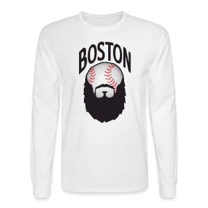 Boston Beards - Men's Long Sleeve T-Shirt