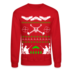 Hideous Holiday Sweater - Crewneck Sweatshirt