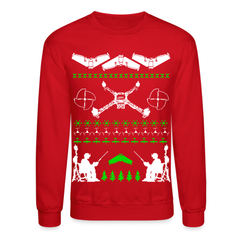 Hideous Holiday Sweater - Crewneck Sweatshirt
