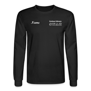 Men's T Lg. Sleeve SWAT w/name - Men's Long Sleeve T-Shirt