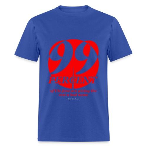 Male 99% - Men's T-Shirt