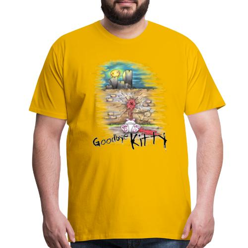 Goodbye Kitty - Men's Premium T-Shirt