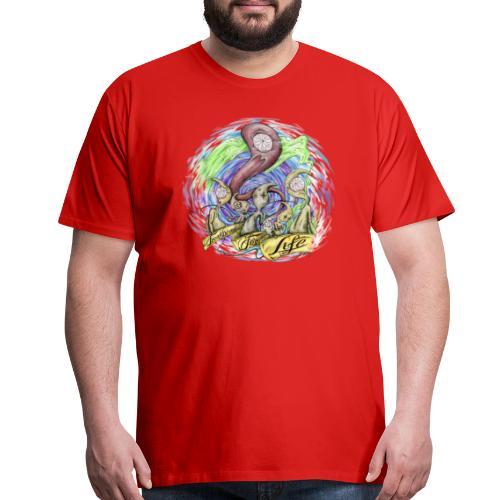 Freakheads for life - Men's Premium T-Shirt