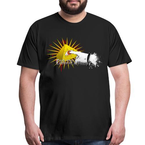 Fuck your Lobbyist Sytstem - Men's Premium T-Shirt